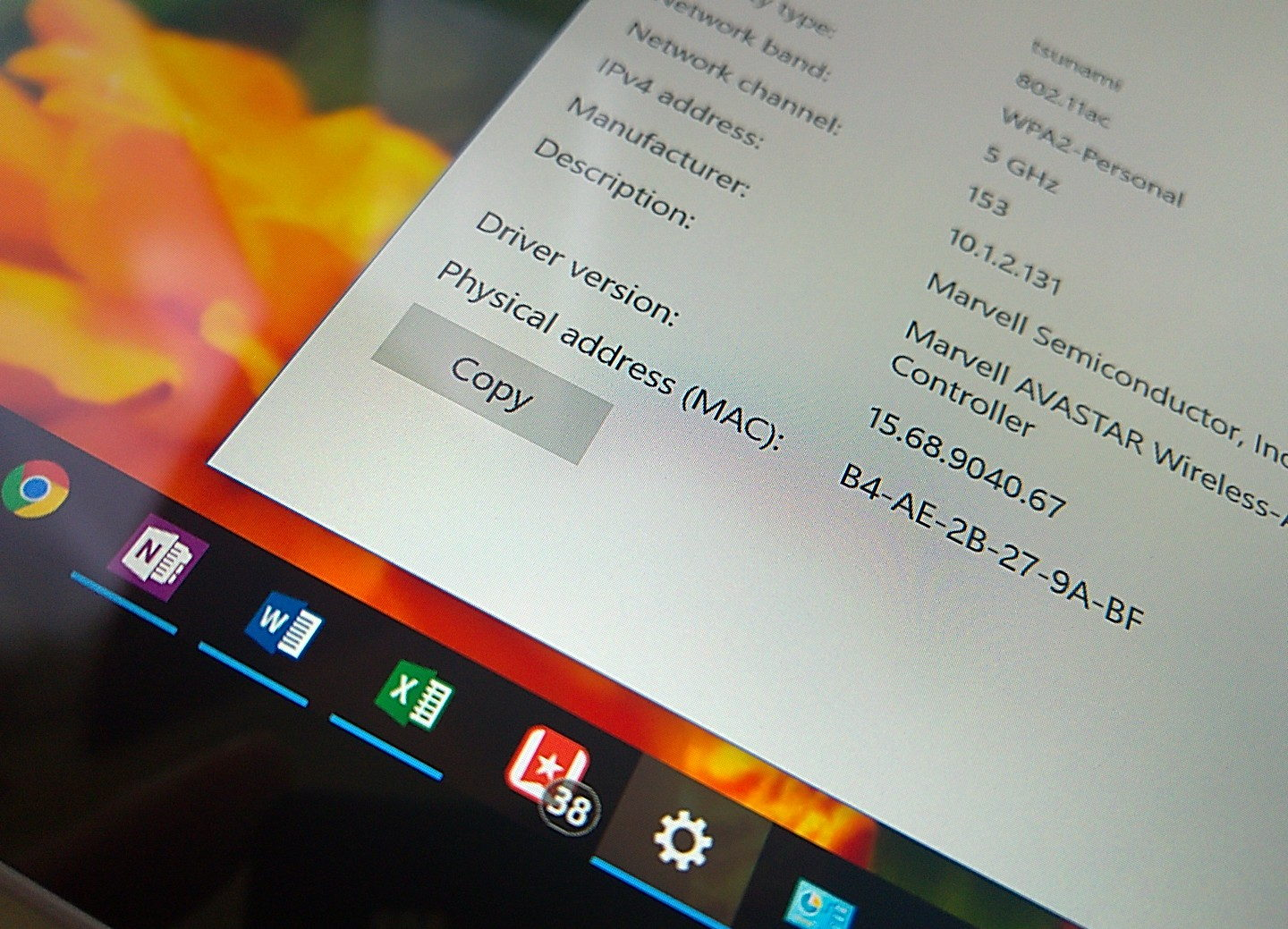 How To Find The Mac Address Of Your Network Adapter On Windows 10 Usb Wireless Lan Access Control