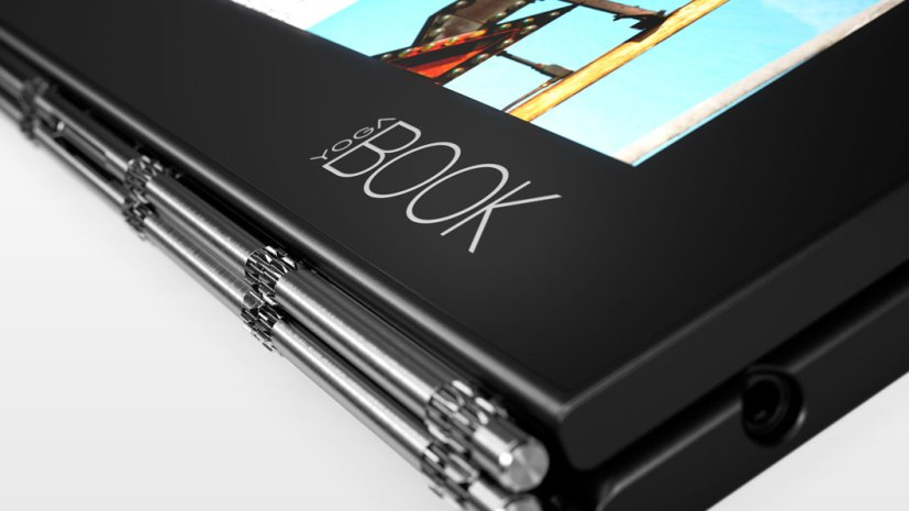 Lenovo Yoga Book hinge