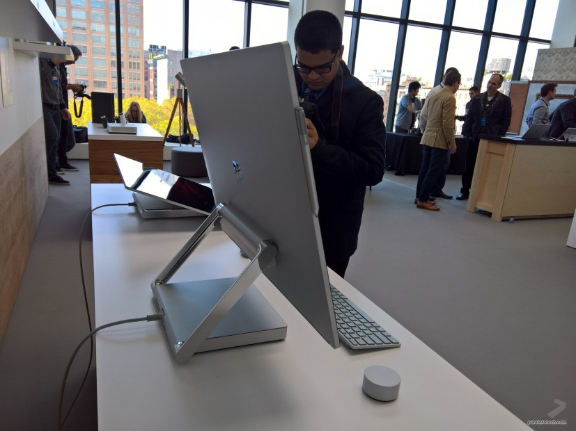 Surface Studio side