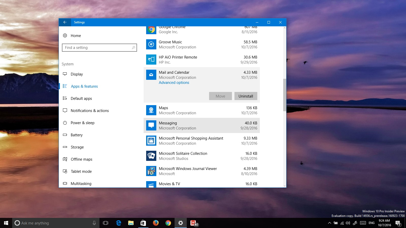 Uninstall built-in apps on Windows 10 without PowerShell commands