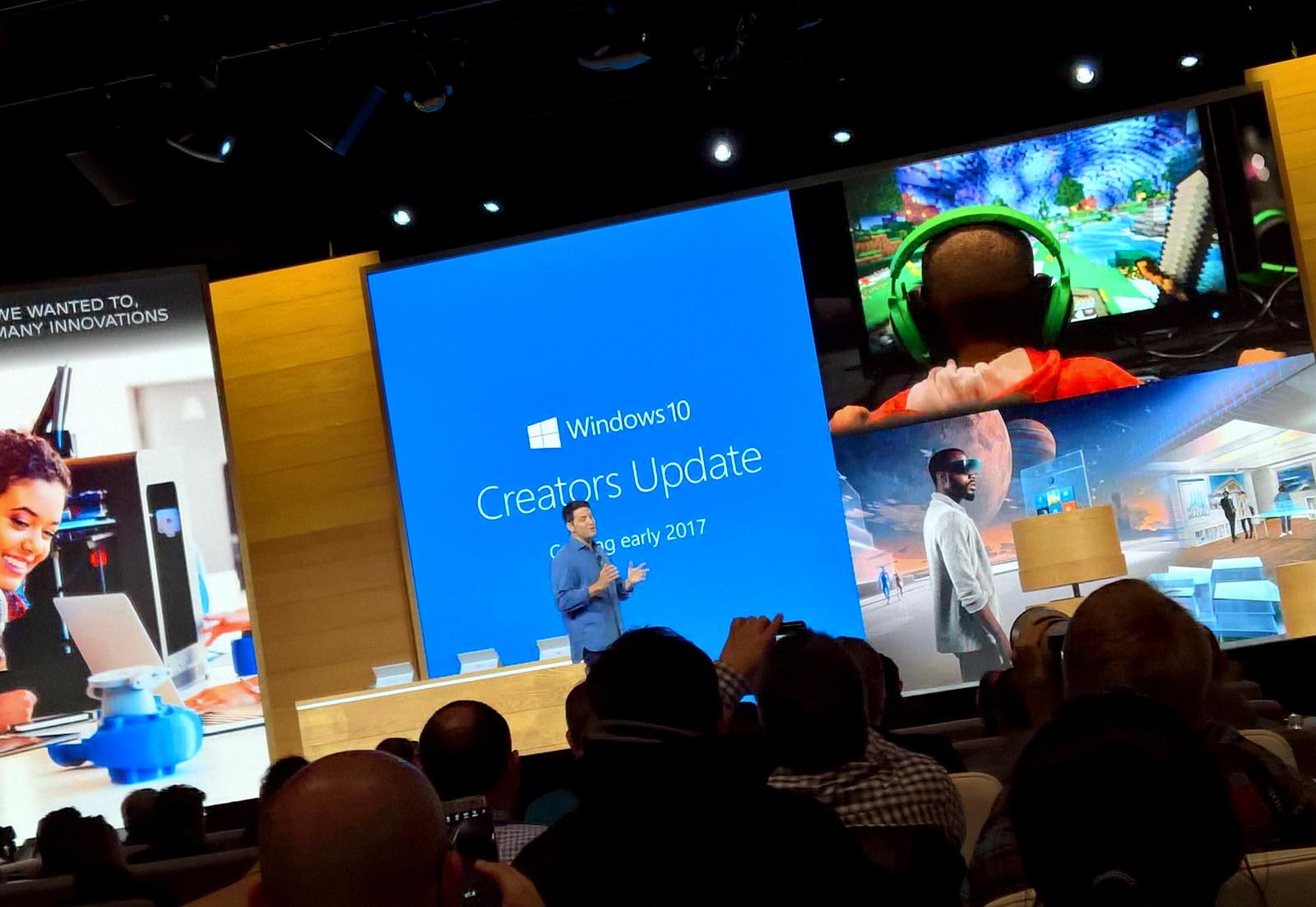 Windows 10 Creators Update coming in early 2017