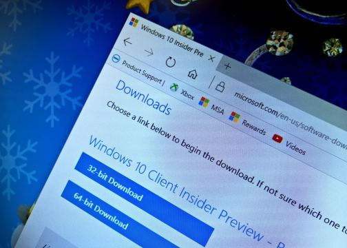 Download Windows 10 (build 18950) Insider Preview ISO file