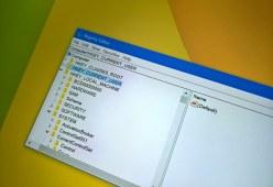 Registry address bar on Windows 10