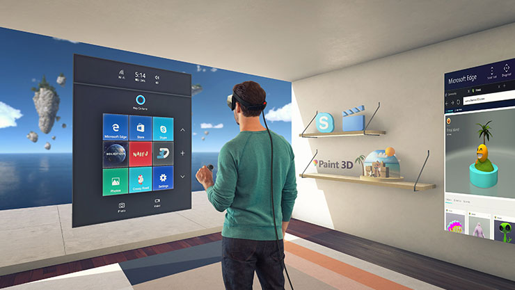 Virtual Reality in Windows 10 Creators Update