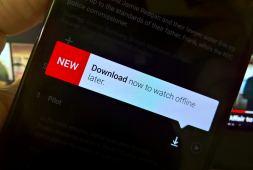 Download option on Netflix to watch offline videos