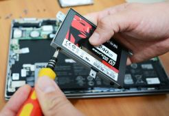 Solid-state drive laptop upgrade