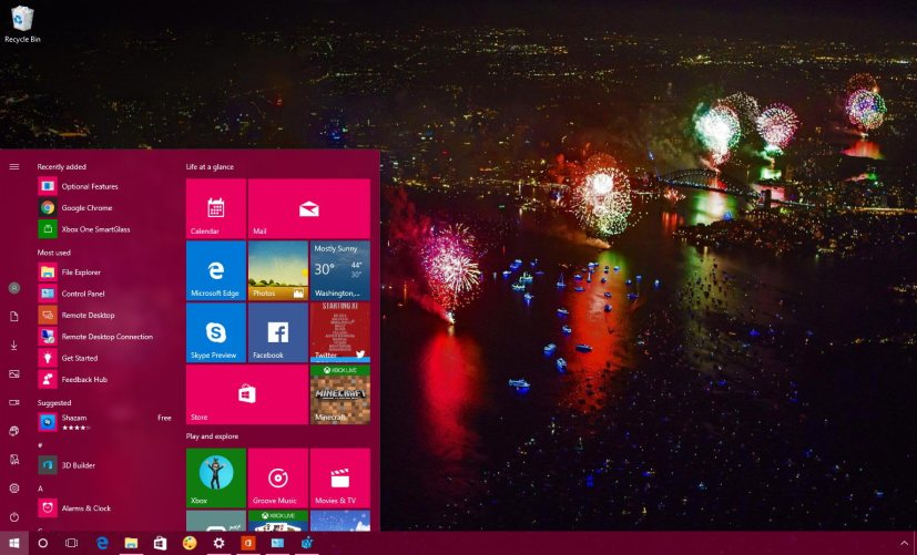 Windows 10 Happy New Year