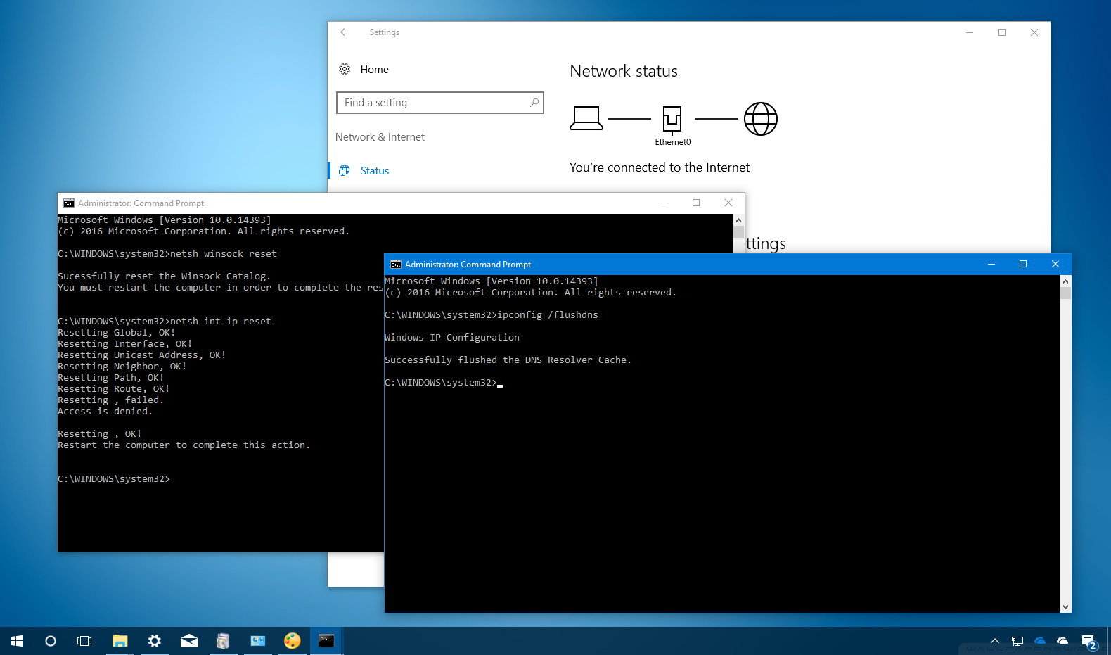 how to fix wifi connection on windows 10