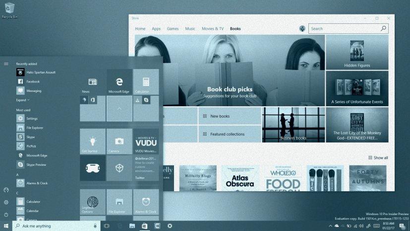 Windows 10 Creators Update ebooks on this Tech Recap