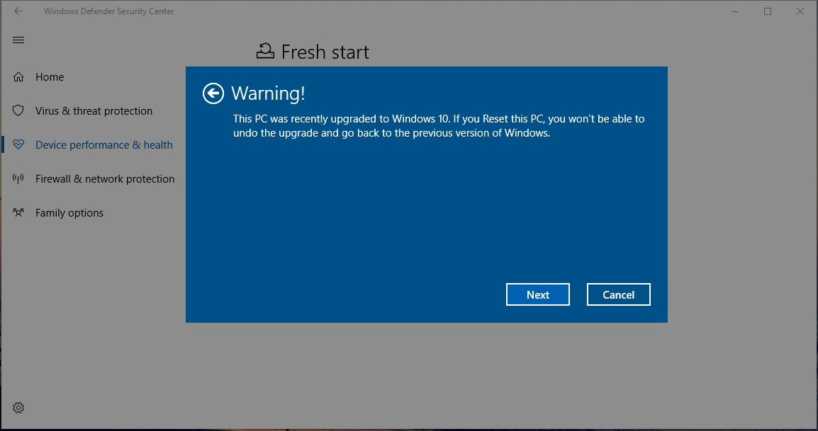 reinstall and update Windows 10 on-demand without losing data ...
