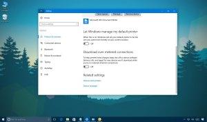 Let Windows manage my default printer