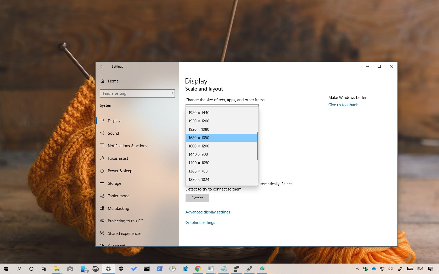 How to change screen resolution on Windows 10 • Pureinfotech