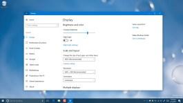 Change resolution settings on Windows 10