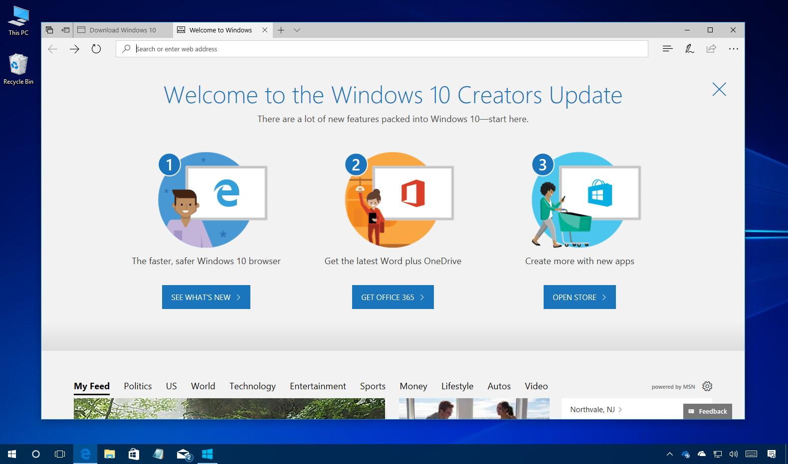 Windows 10 Creators Update ISO download