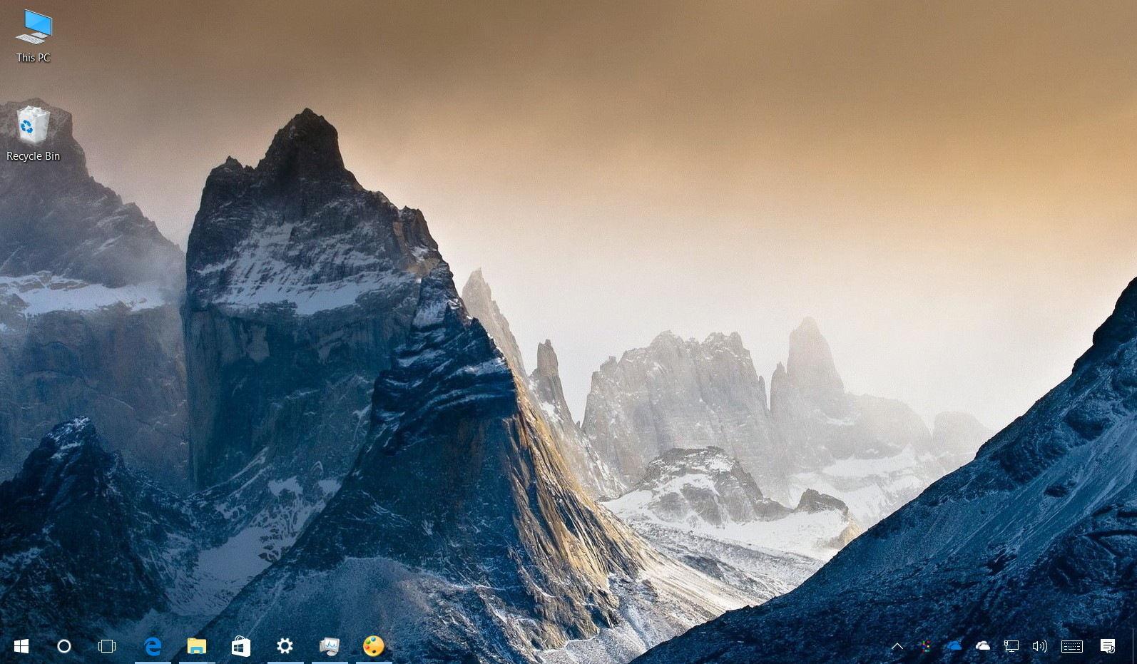 windows 10 transparent taskbar