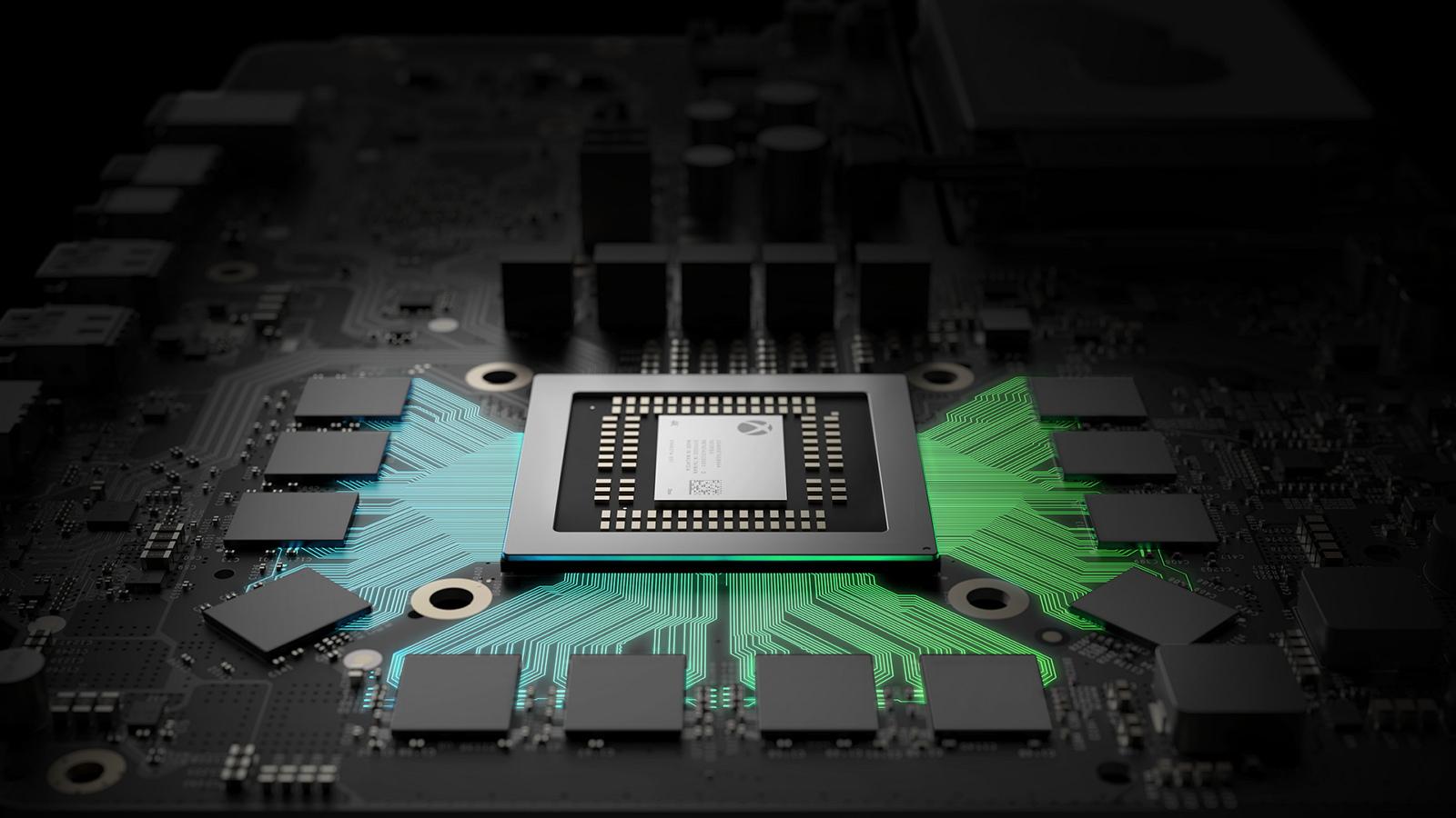 Xbox Project Scorpio hardware