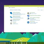 Open Control Panel on Windows 10