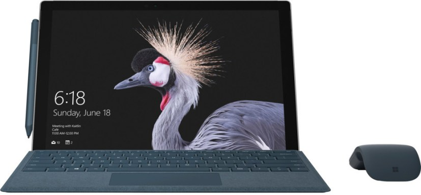 Surface Pro 2017 (front)