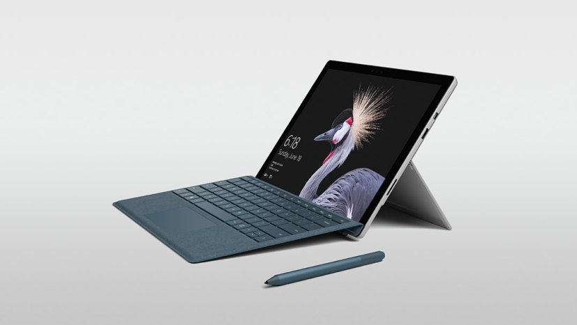 Surface Pro (right)