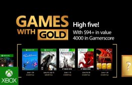 Xbox One Games with Gold June 2017