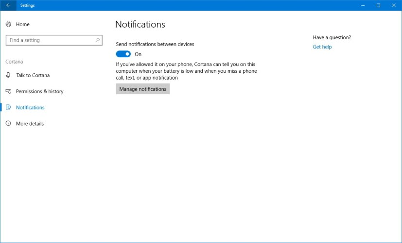 how to allow windows 10 mail to send you notifications