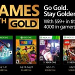 July 2017 Xbox Games with Gold