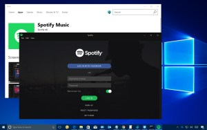 Spotify Windows Store app download