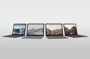 Surface Laptop four colors