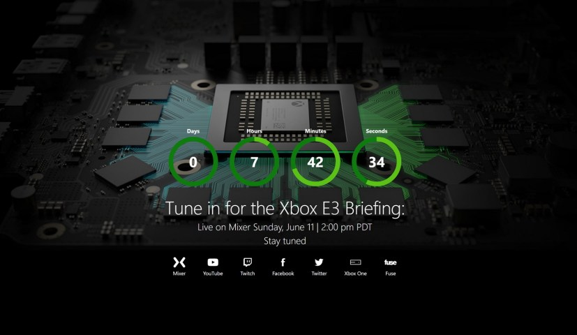 Xbox E3 2017 watch stream