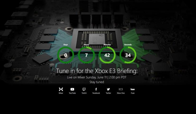 Xbox E3 2017 watch stream
