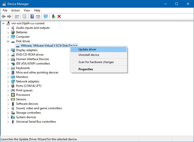 how to start device manager in windows 10