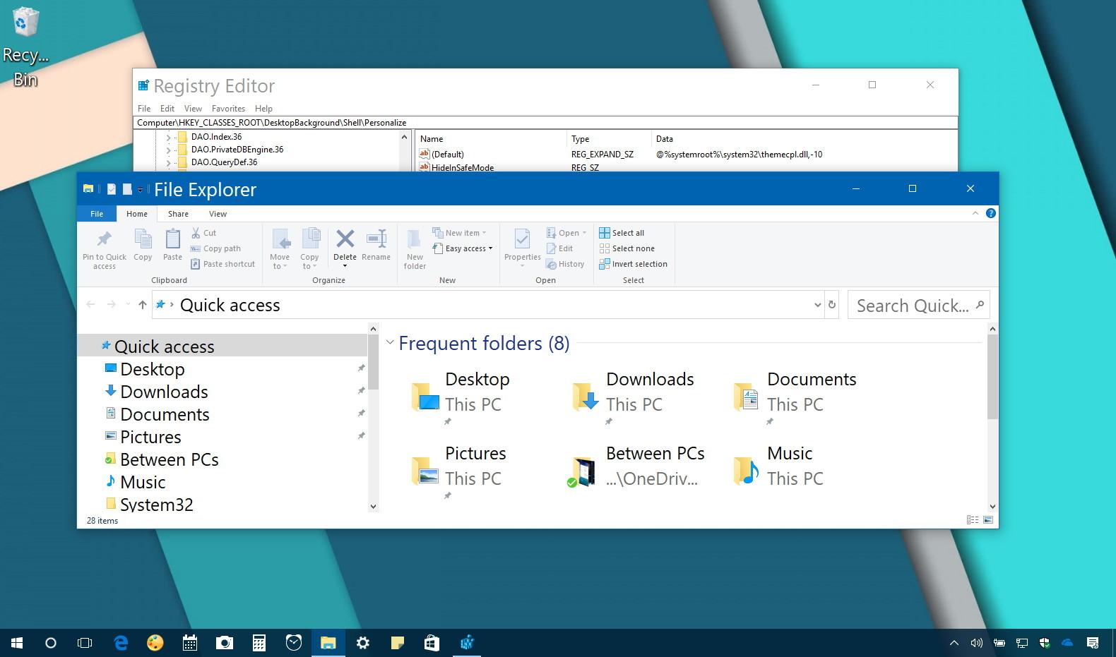 windows 10 change desktop icons font