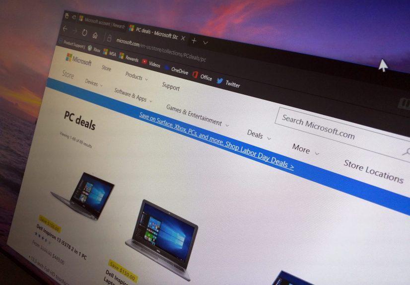 Microsoft Labor Day 2017 deals