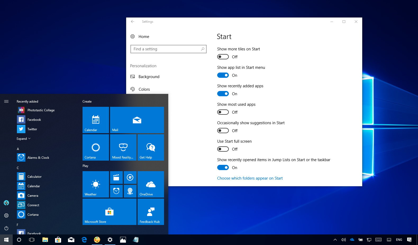 How to disable app suggestions in the Start menu on Windows 10