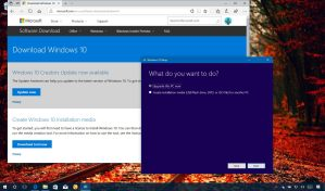 Download Windows 10 Fall Creators Update using Media Creation Tool