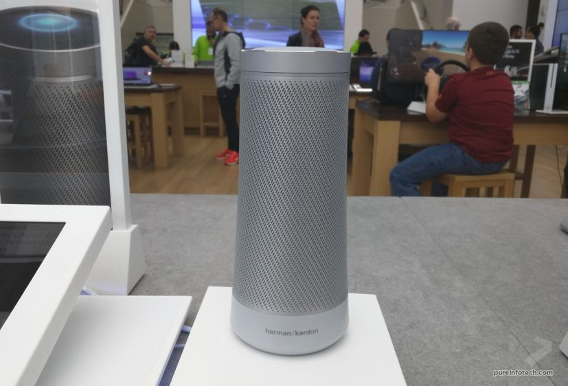 Harman Kardon Invoke with Cortana in Pearl Silver