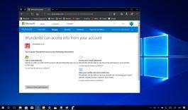 Remove app permissions on a Microsoft account