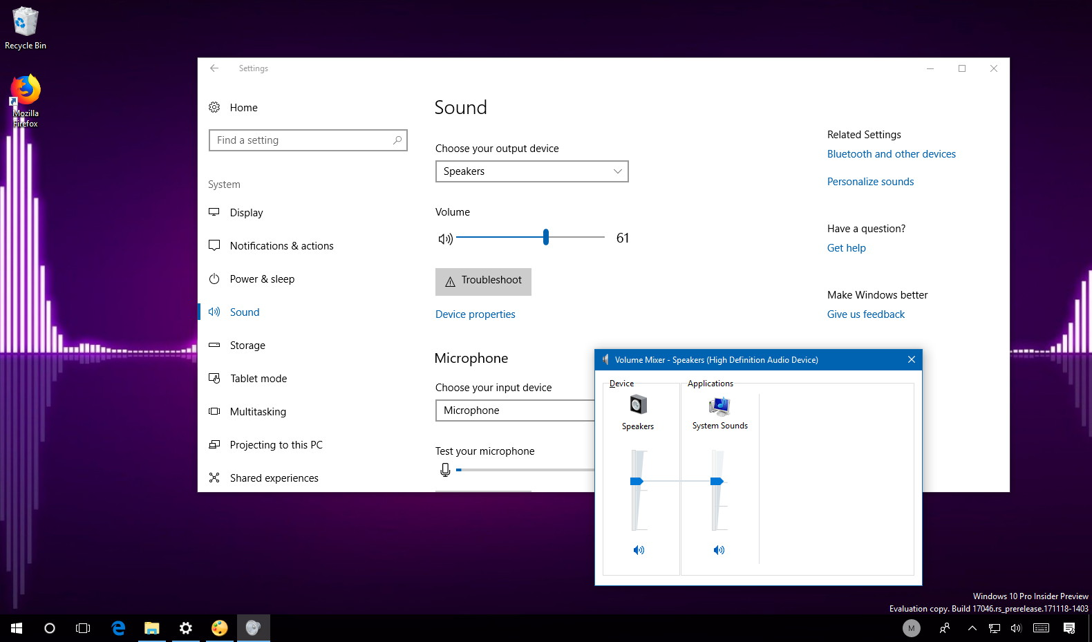 Fix sound problems on Windows 10