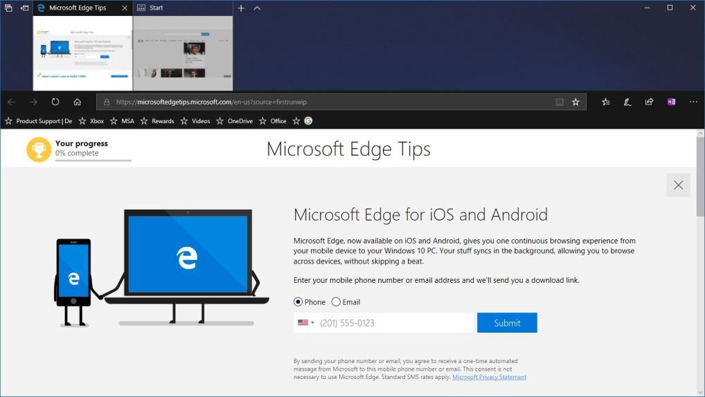 Edge, microsoft Edge, edge browser features