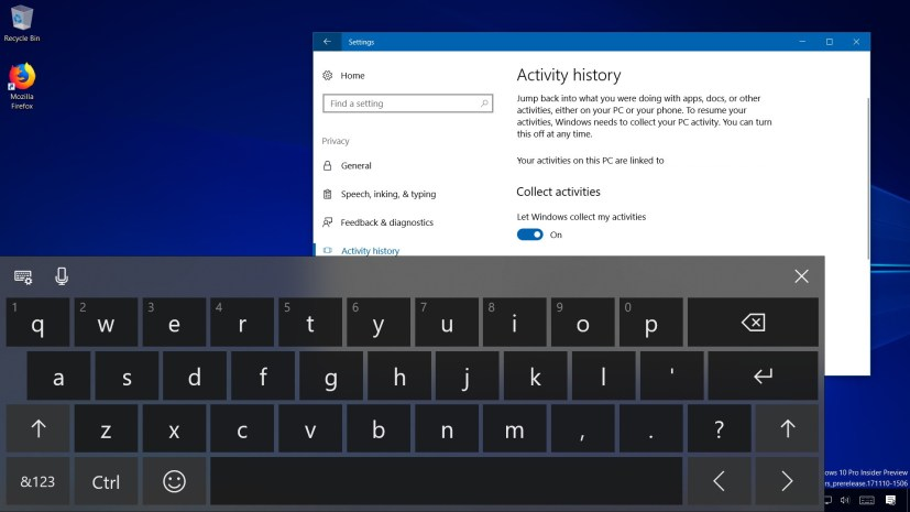 Windows 10 build 17040