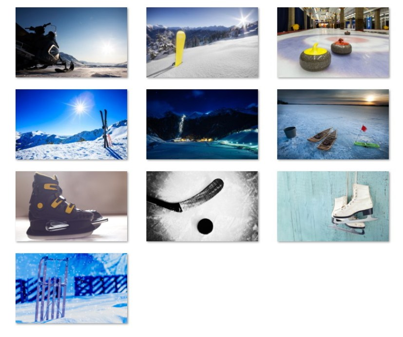Winter sports wallpapers