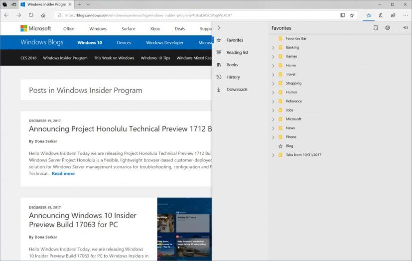 Microsoft Edge Hub
