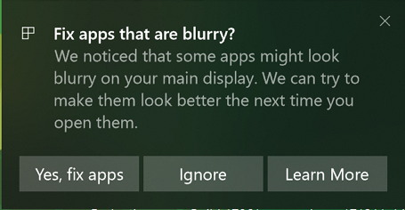 Fix Blurry App Toast Notification Source Microsoft