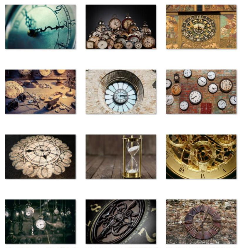 Watched Clock wallpapers