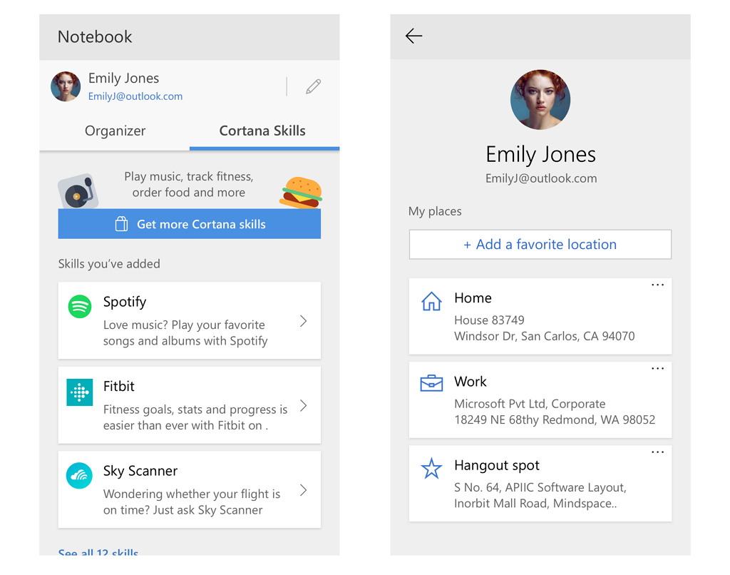 Cortana hacks, cortana features