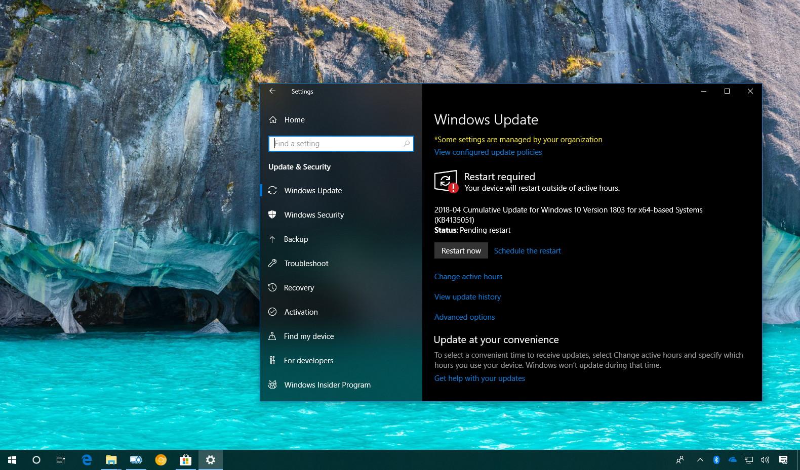 Windows 10 update KB4135051
