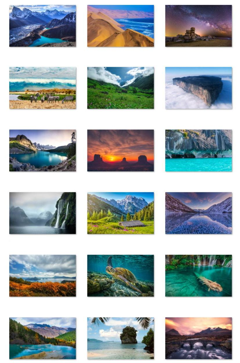 World National Parks wallpapers
