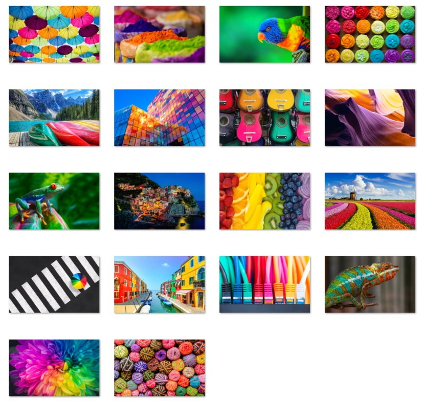Colors of the Rainbow wallpapers