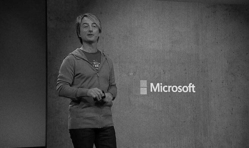 Microsoft Joe Belfiore at Build 2018