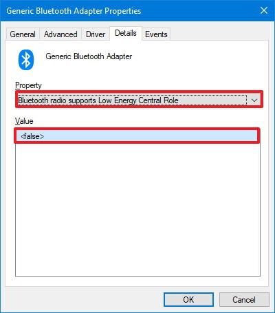 Bluetooth LE support check